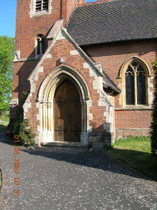 Photo of main church door
